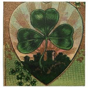 ANTIQUE IRISH SHAMROCK