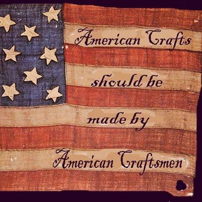 MADE BY AMERICAN CRAFTSMEN