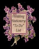Wedding Stationery To Do List